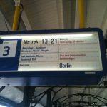 Delayed train