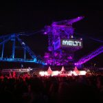 One of the 5 cranes @ Melt!